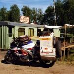 Roadside restaurant near Krasnoyarsk. Russia.