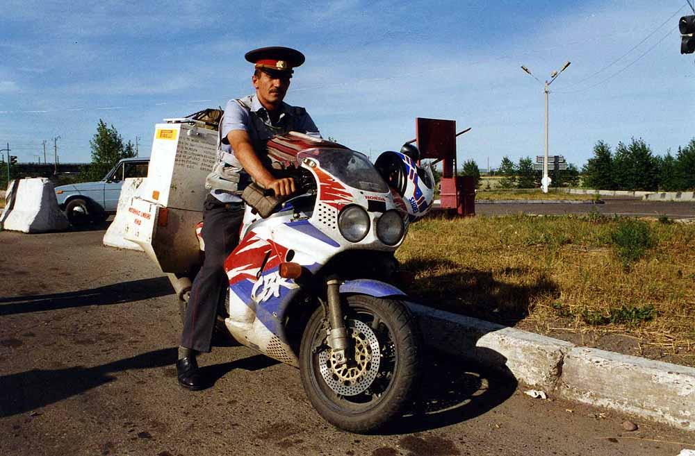 Traffic police. Russia.