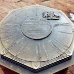 On top of Uluru or Ayers Rock in the N.T. Australia.