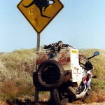 Like many country site signs look. South Australia.