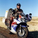Fireblade with exactly 150.000km on. Northern Territory. Australia.