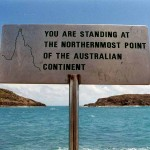 Northernmost point in Queensland. Australia.