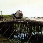 Bridge between Ajmiriganj and Baniyachung. Bangladesh.