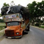 Due to maintenance. Near Kishanganj in the state Bihar. India.