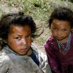 Kids, close to Jiri. Nepal.