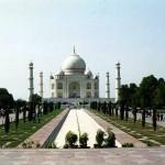 Taj Mahal in Agra, Uttar Pradesh. India.
