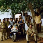 Police station in Bhachau, Gujarat. India.
