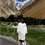 Close to Sost on the Karakoram Highway. Pakistan.