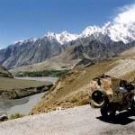 View near Pasu. Karakoram Highway. Pakistan.