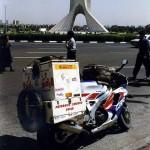 Freedom monument on the Azadi Square in Teheran. Iran.