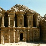 The Monastery in Petra. Jordan.