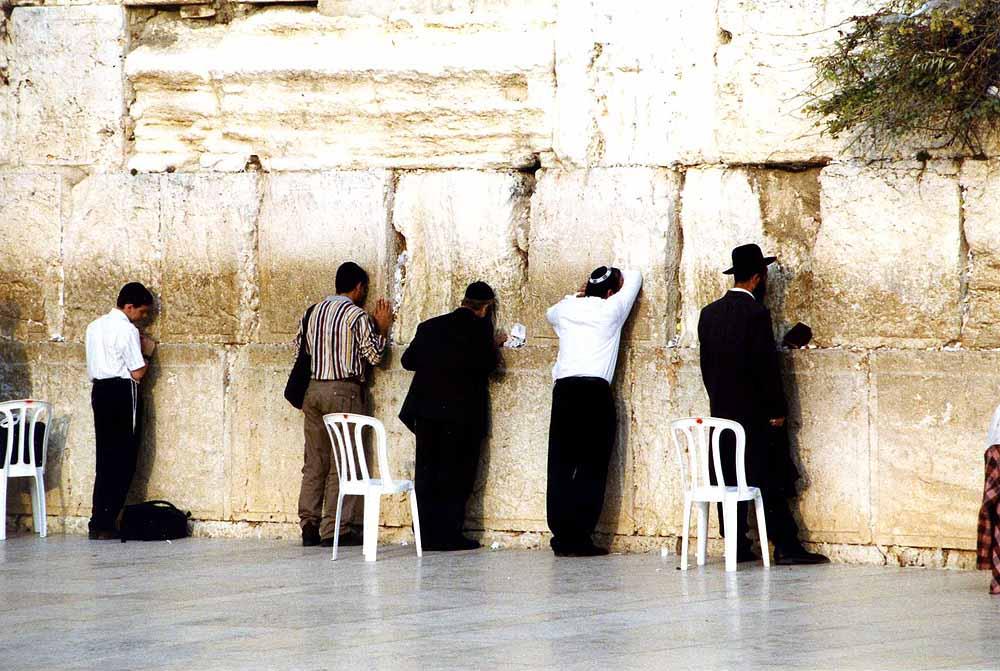 Western Wall in Jerusalem. Israel.