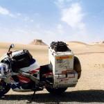Between the oasis Farafra and Abu Minqar in the Western Desert. Egypt.