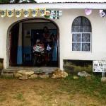 Our hotel in Webuya. Kenya.