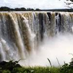 Victoria falls. Zimbabwe.