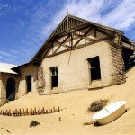 Ghost town of Kolmanskop, close to Luderitz. Namibia.
