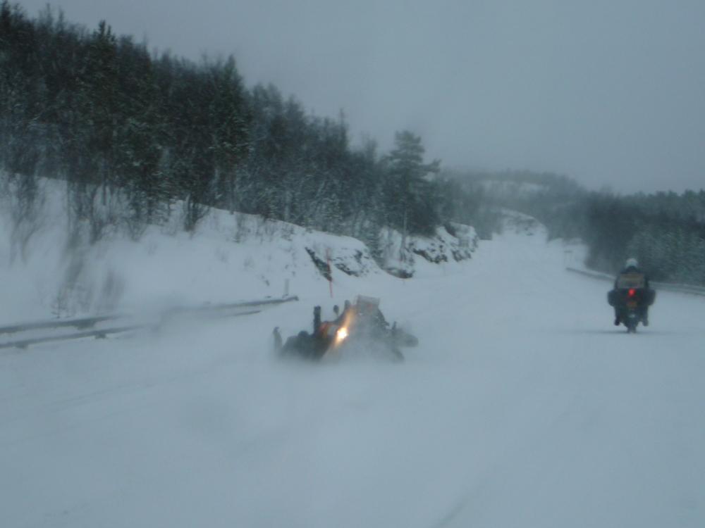 Noordkaap winter 2008
