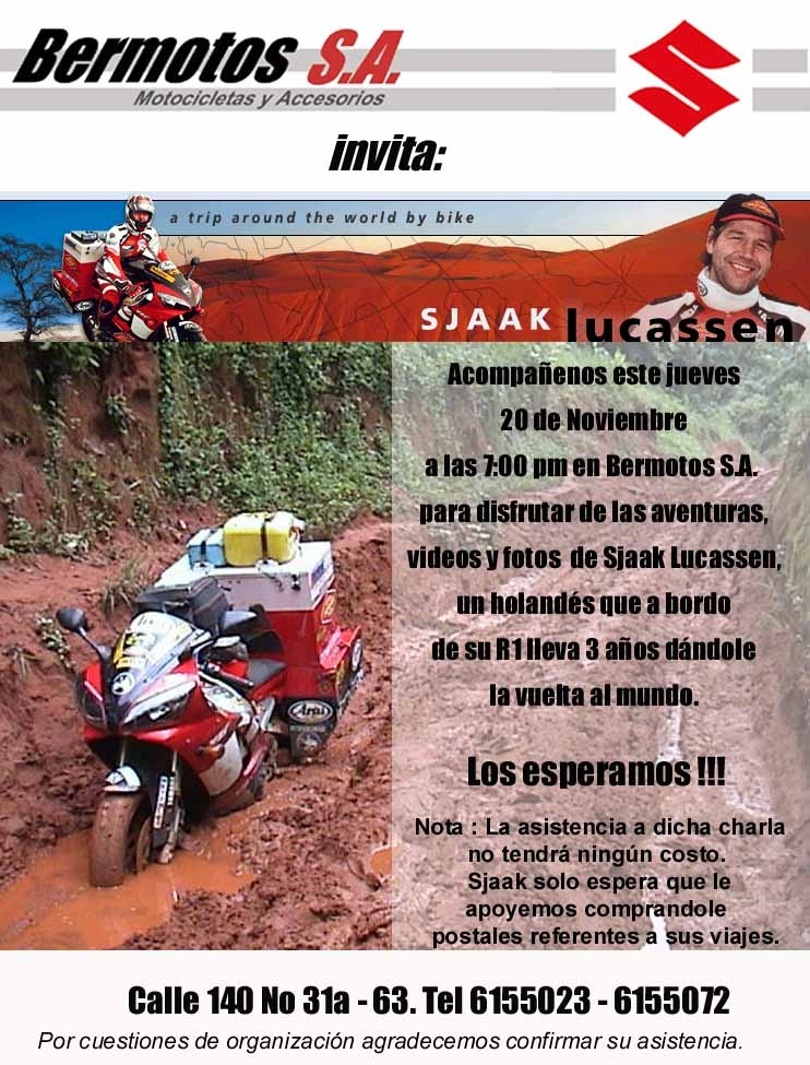 R1. Flyer presentation Bogotá