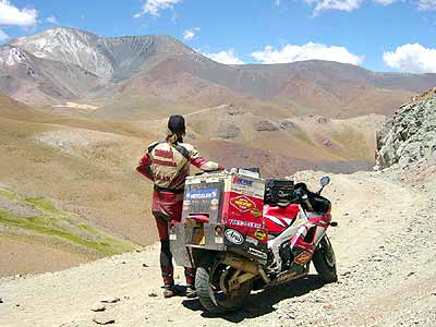 R1. Highest mountain pass, Argentina at 4895 meters