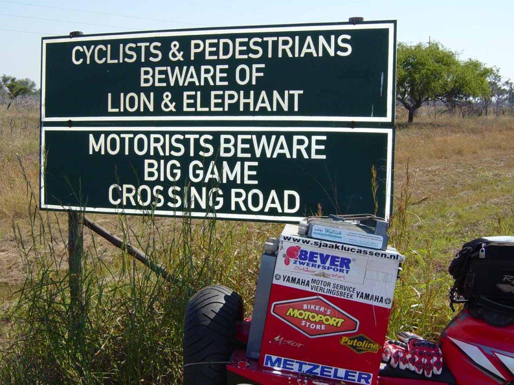 Beware... Africa