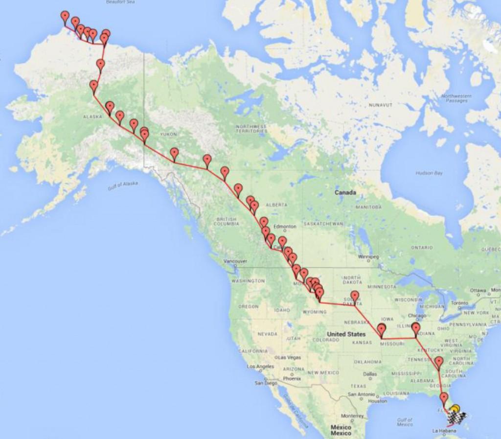 Route PIR 2013 Google