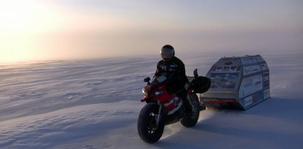 Sjaak live Polar Ice Test ride