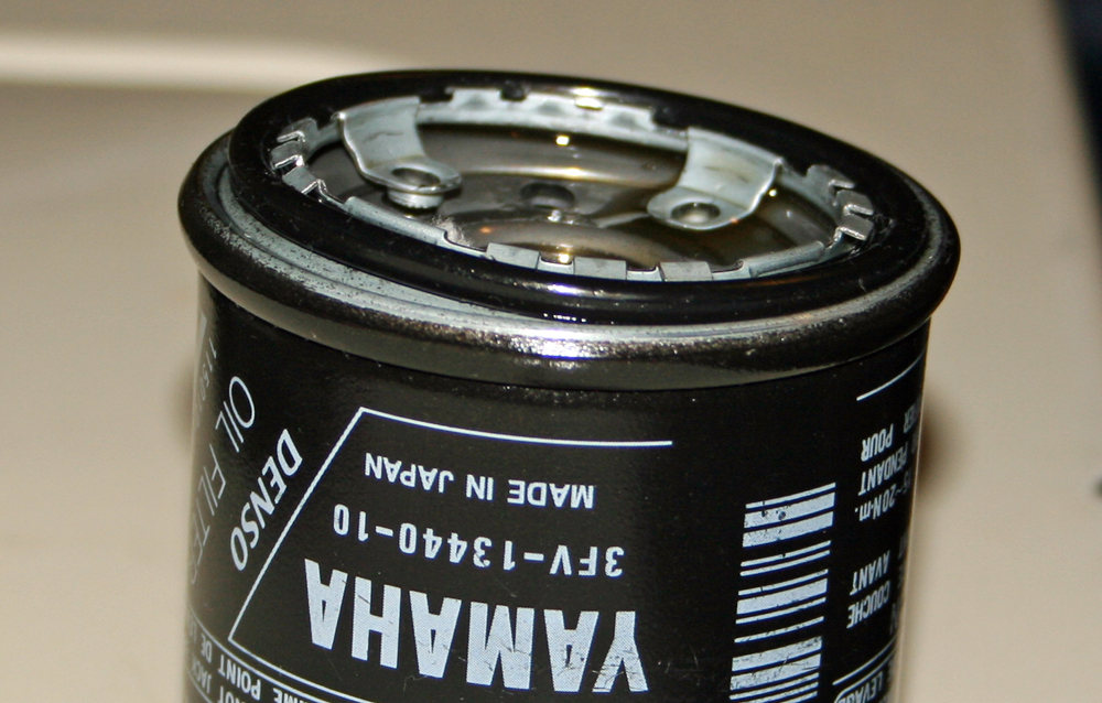 PIR Deformed oil filter