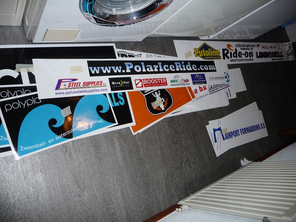 PIR-Stickers printed
