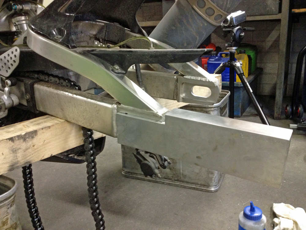 PIR-Swingarm extension