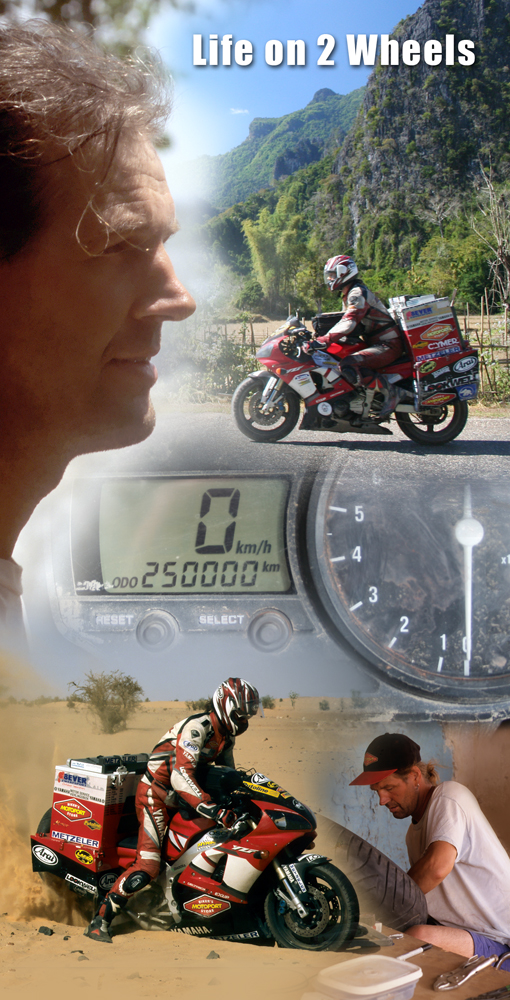 Bookmark-Life on 2 Wheels, time is my friend.