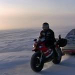Frozen Beaufort Sea