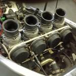 Carburettors winded with a resistance wire ••• Met weerstandsdraad omwikkelde carburateurs