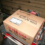 Yamaha Anchorage delivered new oil filters with urgency ••• Yamaha Anchorage heeft met spoed nieuwe oliefilters geleverd