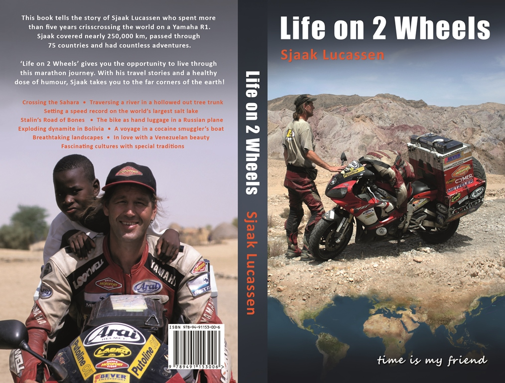 Paperback Life on 2 Wheels